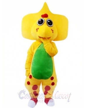 Popular Barney Dinosaur Adult Mascot Costume