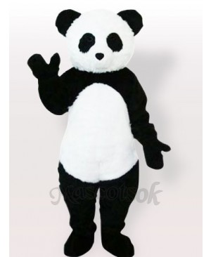Plush Panda Adult Mascot Costume, Type F