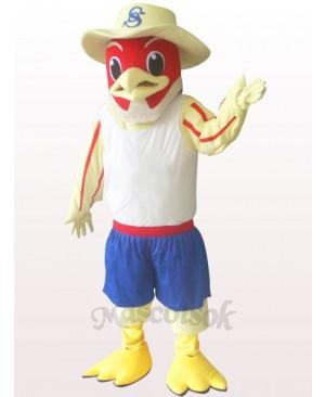 Red Bird Plush Adult Mascot Costume