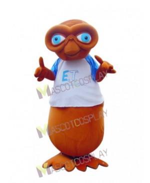 E.T. Alien Mascot Costume