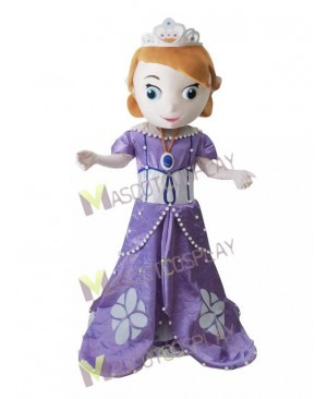 Princess Sophia Sofia the First Mascot Costume