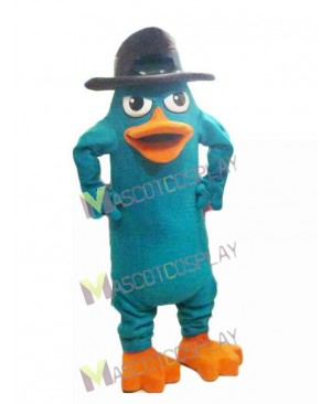 Perry the Platypus Mascot Costume