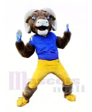 Sporty Powerful Ram Mascot Costume