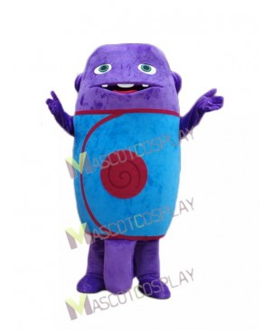 Popular Home Boov Oh Blue Monster Mascot Costume