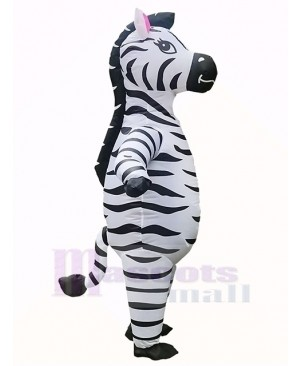 Zebra Inflatable Costume Halloween Christmas Cosplay Party Dress for Adult