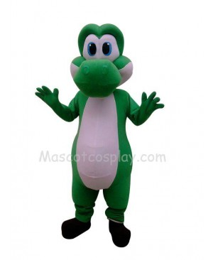 Green Dragon Costume Character Mascot Fancy Dress Outfit
