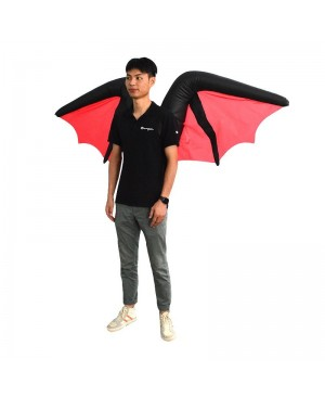 Bat Devil Demon Inflatable Costume Halloween Christmas Costume for Adult