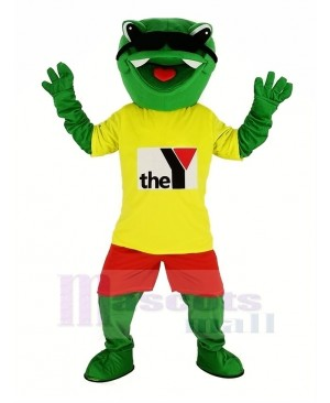 New Frog Mascot Costume Cartoon