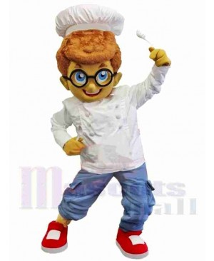 Chef Boy Mascot Costume