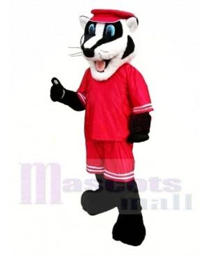 School Sporty Badger Mascot Costume