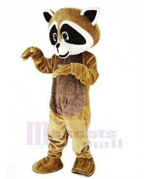 Tan Robbie Raccoon Mascot Costume Animal