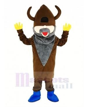 Madcap Viking with Royal Blue Shoes Mascot Costume