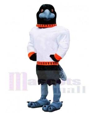 Fierce Sporty Raven Mascot Costume