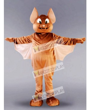 Brown Flying Bat Mascot Costume