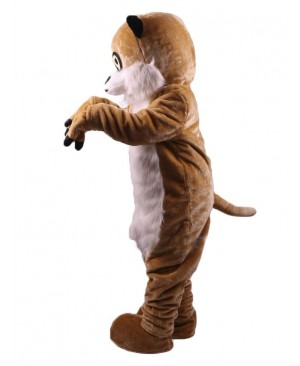 Cute Realistic Animal Meerkat Mascot Costume