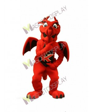 High Quality Adult Charizard Firedragon Red Dragon Mascot Costume