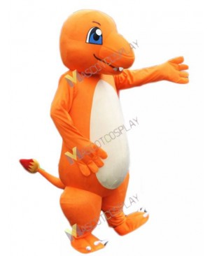 Charmander Dragon Pokemon Pokémon Go Mascot Costume