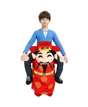 Mammon Carry me Ride on Halloween Christmas Costume for Adult/Kid
