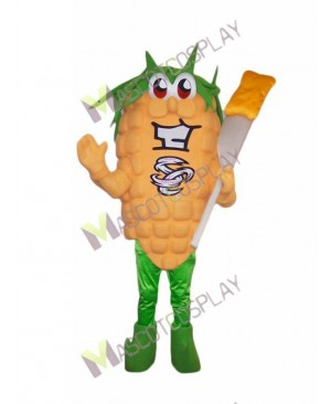 High Quality Adult Fresh Corn Mascot Costume
