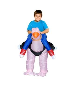 Kids Inflatable Ostrich Costume Halloween Children Cosplay Christmas