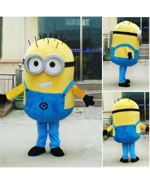 Despicable Me Minion Mascots Costume Custom Fancy Costume Anime Cosplay Mascotte Theme Fancydress Carnival Costume Free Shipping