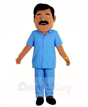 Doctor Man Nursing Care Workers Mascot Costumes People