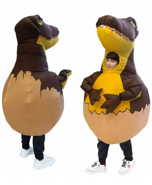 Inflatable Dinosaur Egg Costume Kid Halloween Dino Egg Christmas Fancy Party Dress for Girls Boys christmas