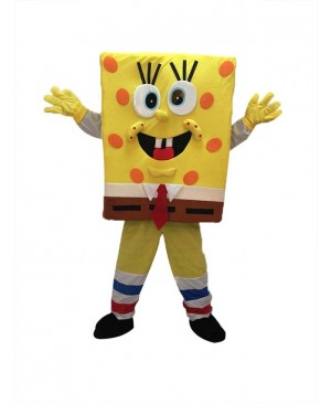 High Quality SpongeBob SquarePants Mascot Costume