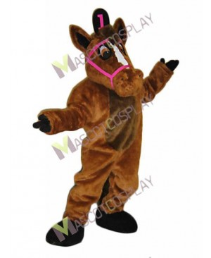 New Leisure Horse Mascot Costume
