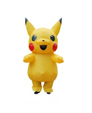 Kids Inflatable Pikachu Costume Halloween Children Cosplay christmas