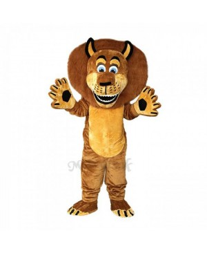 Brown Alex The Lion Mascot Costumes
