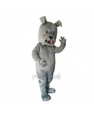 New Lovely Gray Spike Dog Mascot Costume