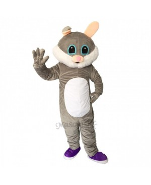 Easter Male Bunny Rabbit Plush Adult Mascot Costume