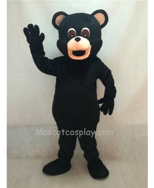 Hot Sale Adorable Realistic New Popular Professional New Adult Black Bear Adult Mascot Costume