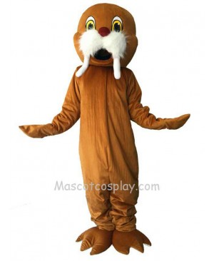 New Brown Walrus Mascot Costume