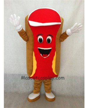 Hot Sale Adorable Realistic New Popular Professional Food Promotion Snack Red Hot Dog Mascot Costume Fancy Dress Outfit