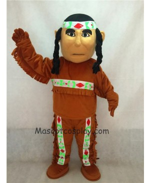 Hot Sale Adorable Realistic New Popular Professional Native American Indian Mascot Costume