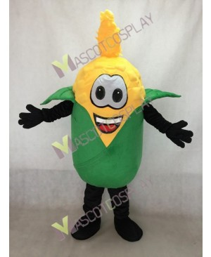 Yellow Husky Corn Mascot Costume