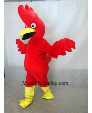 Hot Sale Adorable Realistic New Popular Professional Red Bug Eyed Chicken Mascot Costume