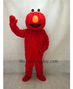 High Quality Long Fur Sesame Street Cartoon Elmo Party Carnival Halloween Christmas Mascot Costume