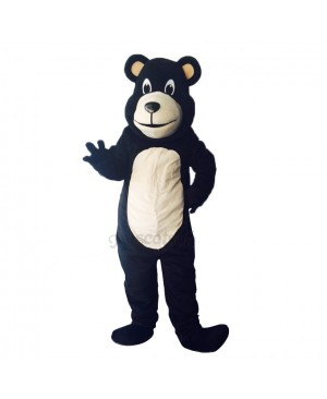 New Lovely Bongo Black Bear Mascot Costume