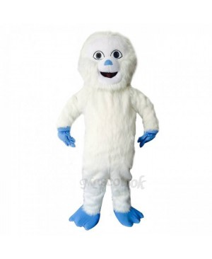 New Blue Hands Yeti Mascot Bigfoot Costume
