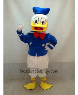 High Quality Adult Child Donald Duck Mascot Costume