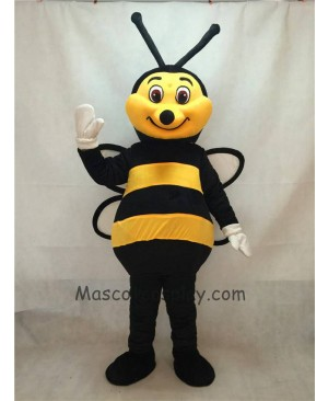 High Quality New Black and Yellow Bee Mascot Costume
