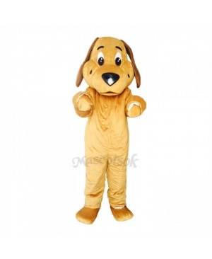 New Brown Ears Tan Dog Costume Mascot