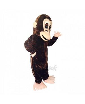 New Lovely Brown Gorilla Costume Mascot