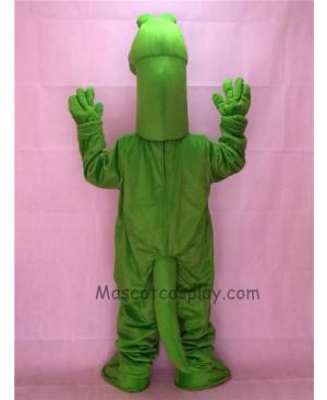 Cute New Cartoon Green Dinosaur Mascot Costume