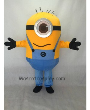 Cute Despicable Me One Eye Minions Mascot Costume