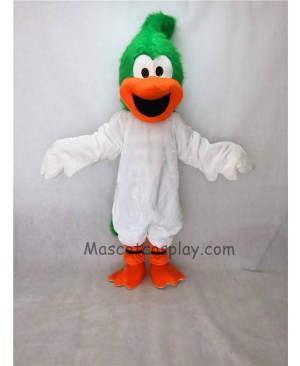 Cute New Green Head Roadrunner Bird Mascot Costume