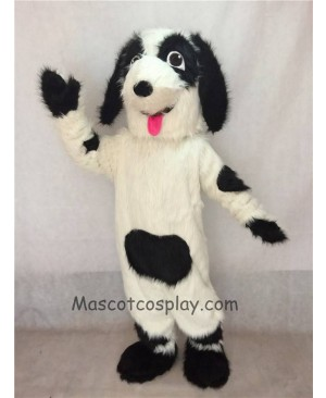 New Fido Dog Mascot Costume with Red Tongue